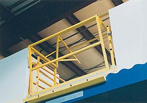 Vestil MEZZ-200 Mezzanine Safety Gate