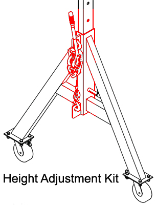 Spanco Lift Adjustment Kit