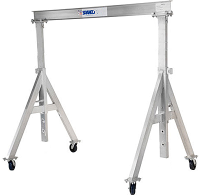 Spanco 1ALU0812 Aluminum Gantry Crane