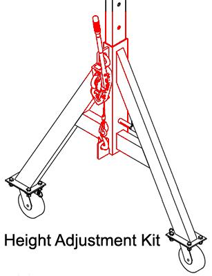 Spanco Lift Adjustment Kit