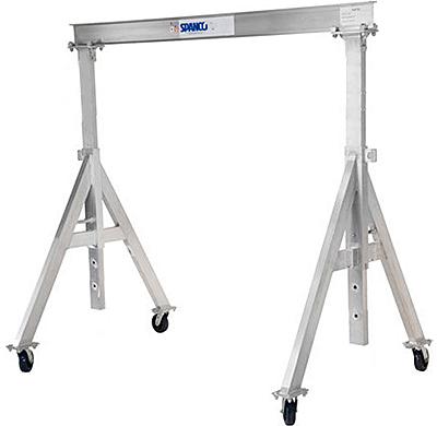 Spanco 3ALU0812 Aluminum Gantry Crane