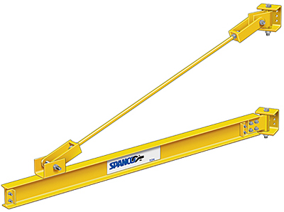 Spanco 1/2 Ton Wall Mounted Jib Crane
