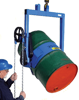 Morse 185A-HD Overhead Drum Dispenser