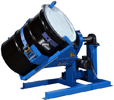 Morse 309-A Drum Tumbler (shown without gated enclosure & included air controls)