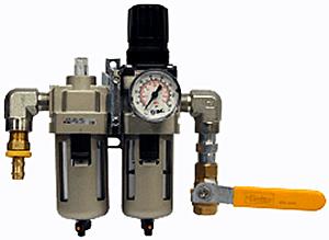 Morse 309-A Air Controls