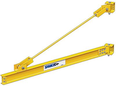Spanco 3 Ton Wall Mounted Jib Crane