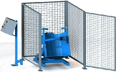 Morse GEK-309-3 Gated Enclosure With Gate Interlock