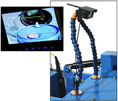 Morse 6320i-P Optional Camera and Monitor
