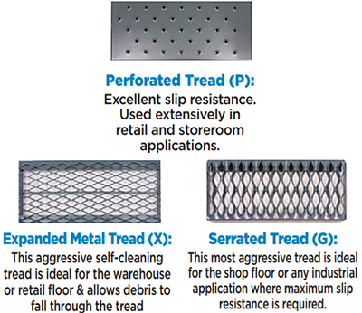 Tread Options for Ballymore  ML134021