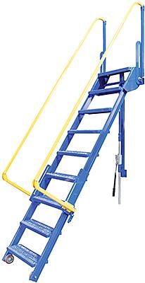 Vestil LAD-FM-96 Mezzanine Ladder
