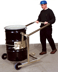 Morse 80i-SS Stainless Steel Mobile Drum Carrier