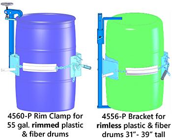 Spark Resistant Plastic & Fiber Drum Adaptors 4556M-P & 4560M-P