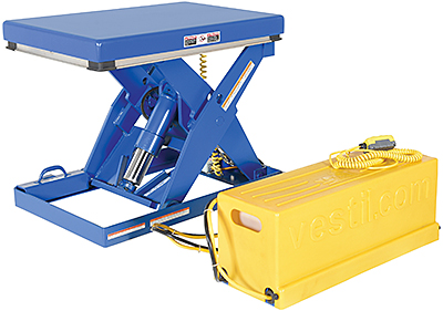 Vestil EHLTS Short Scissor Lift Table