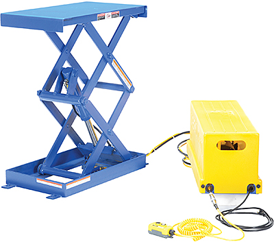 Vestil EHLTS Narrow Shorty Scissor Lift Table