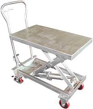 Vestil SSSC-400 Stainless Steel Scissor Carts