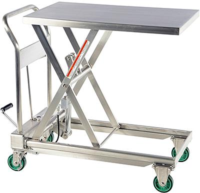 Vestil CART-550-SS Stainless Steel Lift Cart