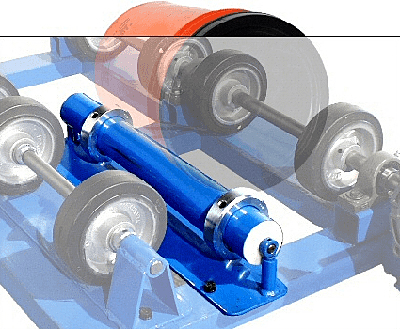 Optional Morse 1-5-1 - 1 to 5 Gallon Cylindrical Can Roller