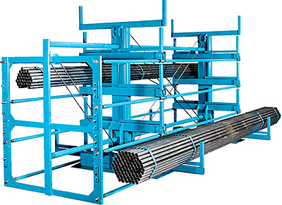 Rack Engineering Crank Out Cantilever Racking