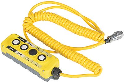 Optional Vestil EPFC-HC Hand Control On Coil Cord