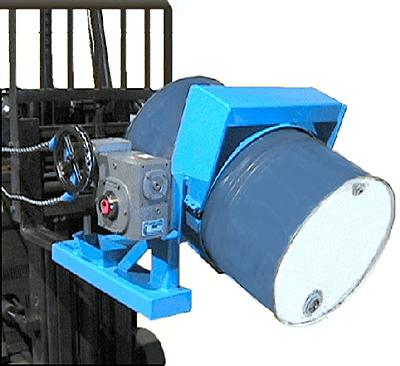 Morse 285XGR Forklift Drum Dumper