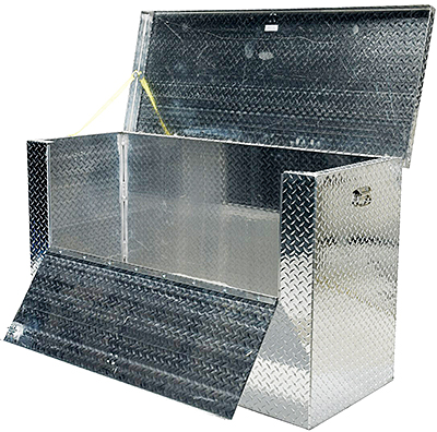 Vestil APTS-2460-FD Aluminum Tool Boxes w/ Drop Front Door