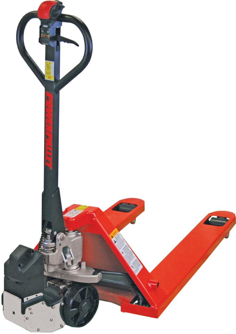 Power Pallet 2000 Electric Pallet Jack Conversion Kit (shown with optional pallet jack)