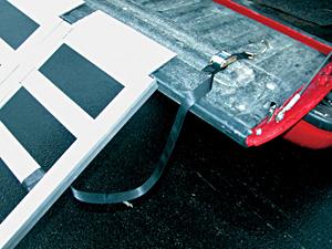 Vestil RAMP-5077 Aluminum Pick-Up Truck Ramp / Van Ramp