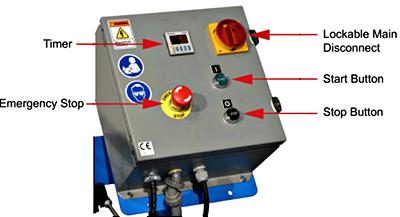 Morse CFP-310-3 Control Package Control Box
