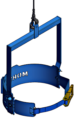Morse 85i Below Hook Drum Lifter