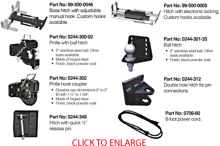 1061-HD Hitches
