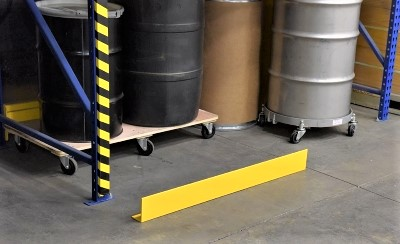 Floor-Mounted Machine Guard