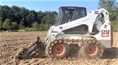 Skid Steer Rock Grader Attachment