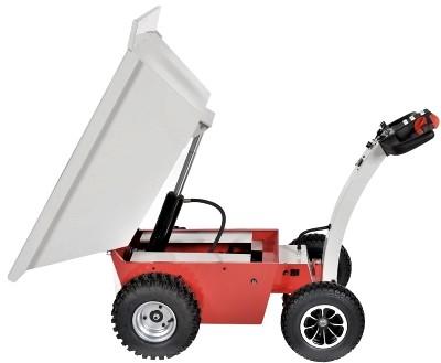 Powered Dump Cart