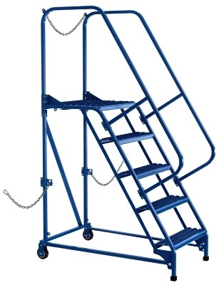 Vestil LAD-STAL-5-G Semi-Trailer Ladder