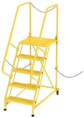 LAD-STAL-5-P-YL Semi-Trailer Ladder