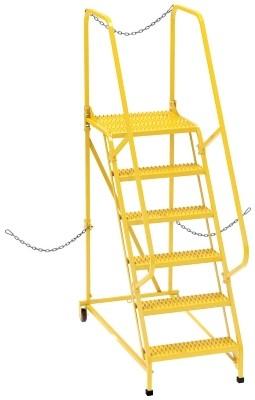 LAD-STAL-6-G-YL Semi-Trailer Ladder