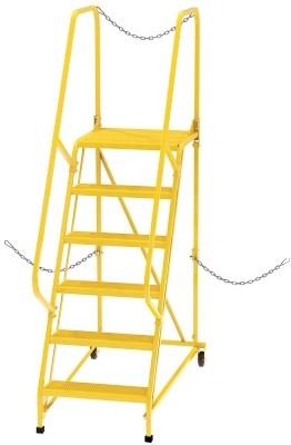 LAD-STAL-6-P-YL Semi-Trailer Ladder