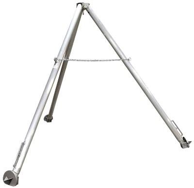 Vestil TRI-SF Fixed Leg Aluminum Tripod Hoist Stand