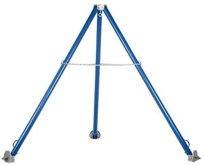 Vestil TRI-SA Adjustable Steel Tripod Hoist Stand