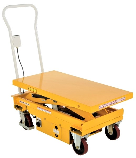 Vestil CART-2000-DC-C Electric Lift Cart