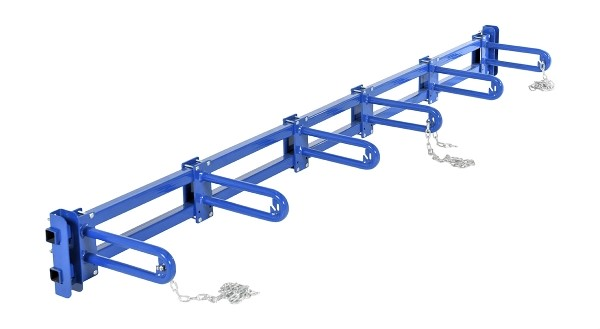 Vestil PRSR-96-5B Vertical Bar Storage Rack