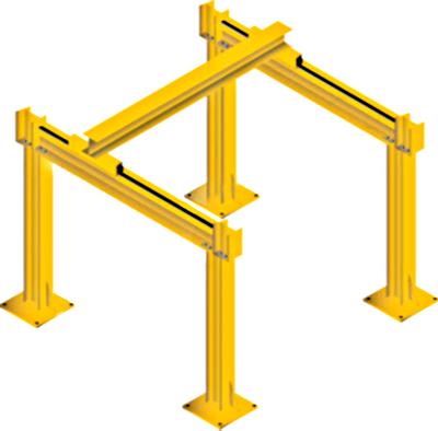 All Lift 1 Ton Bridge Crane