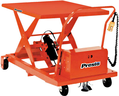 Presto XBP36-10 Mobile Lift Table