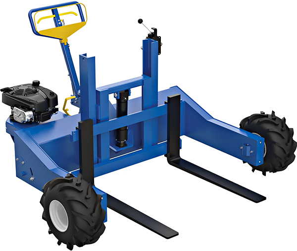 Vestil ALL-T-4-GPT Rough Terrain Pallet Truck