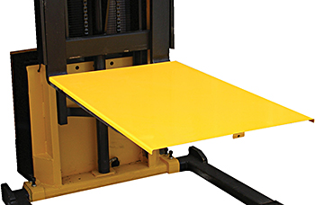 Solid Platform for use with Pallet Stacker