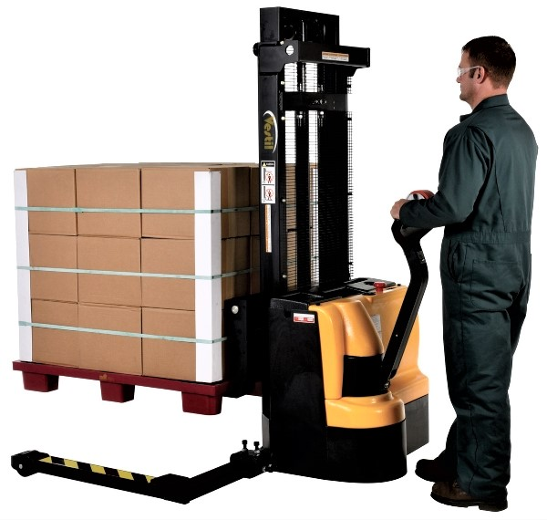 Fully Powered Pallet Stacker