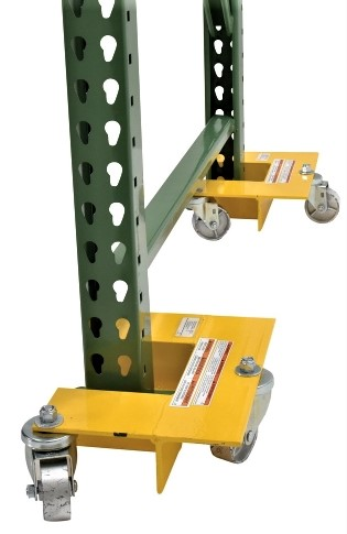 Pair of Pallet Rack Lifting Dollies