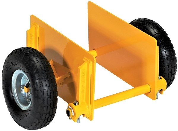 PLDL-ADJ-10PN Adjustable Dolly - Pneumatic wheels