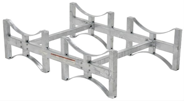 Vestil DRUM-RACK Galvanized Steel Stackable Drum Racks