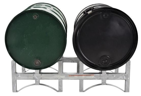 Galvanized Steel Drum Racks